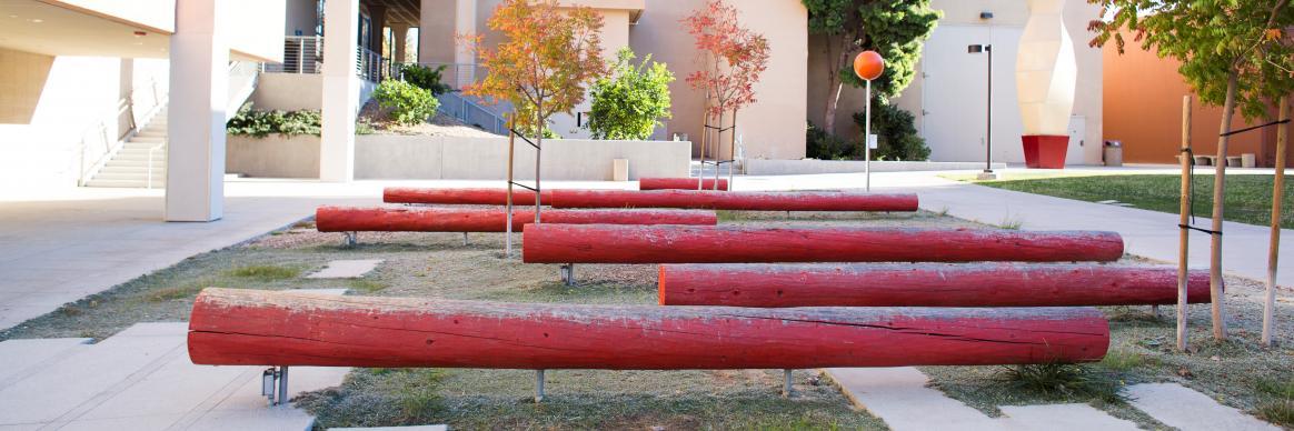Irvine garden art